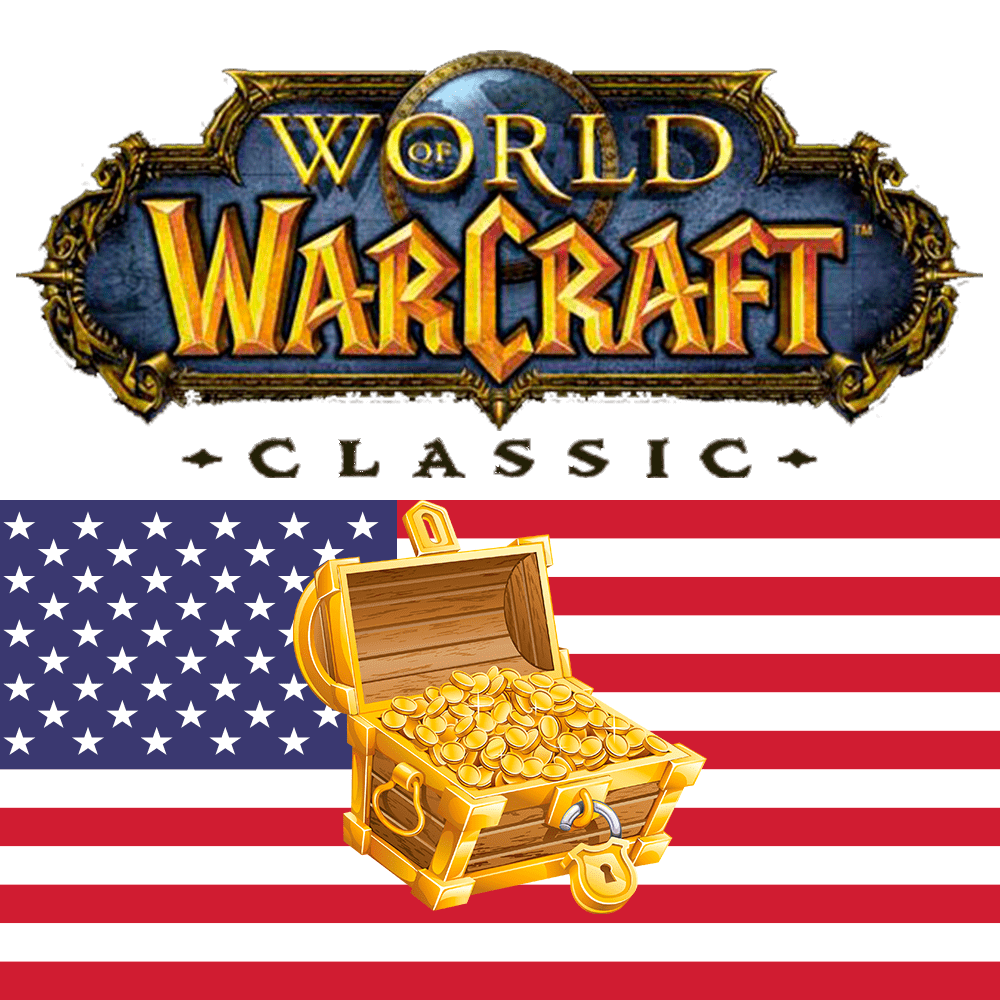 World of Warcraft Classic ЗОЛОТО на Американских серверах